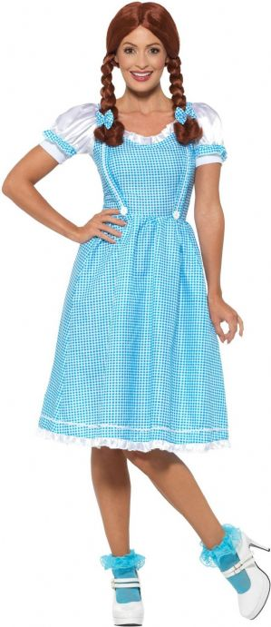 Dorothy Wizard of Oz Plus size Costume (EF2186)